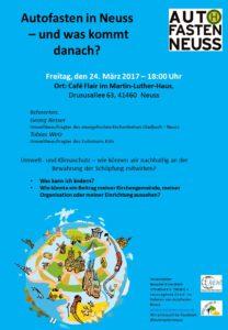 Workshop Umweltmanagement am 24.03.2017